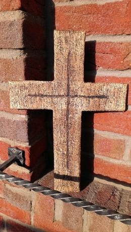 Obrázek výrobku: Kříž plný, 45 cm