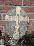 Výrobek: Kříž placka, 40 cm