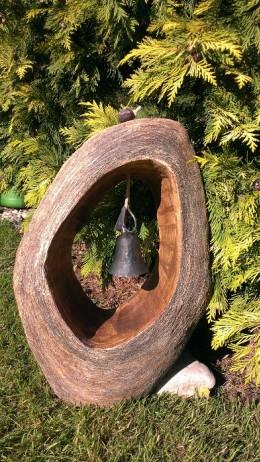 Obrázek výrobku: Zvonička, 45 cm, kovaný pozinkovaný zvon