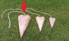 Výrobek: Srdíčko na zavěšení - velké 22 cm