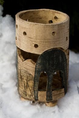Obrázek výrobku: Domeček se slonem na svíčku