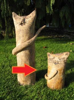 Obrázek výrobku: Kočka nebo kocour - 18 cm
