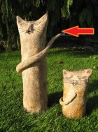 Výrobek: Kočka nebo kocour - výška  40 cm