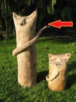 Obrázek výrobku: Kočka nebo kocour - výška  40 cm