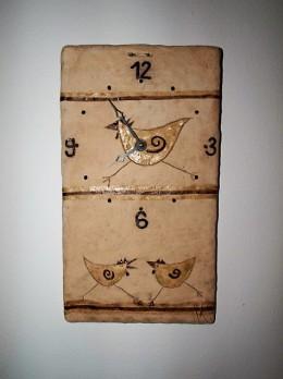Obrázek výrobku: Hodiny se slepicemi - 35 x 20 cm