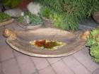 Výrobek: Mísa s roztaveným sklem - vícebarevná - 51 cm