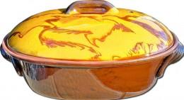 Obrázek výrobku: Zapékací hrnec 3,0 l -- oválný