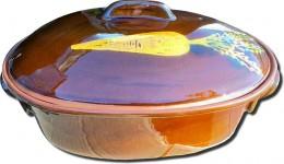 Obrázek výrobku: Zapékací hrnec 4,5 l - oválný