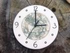 Výrobek: Nástěnné keramické hodiny3 - průměr cca 22 cm