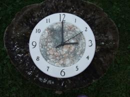 Obrázek výrobku: Nástěnné keramické hodiny4 - průměr cca 22 cm