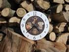 Výrobek: Nástěnné keramické hodiny5 - zvířata - průměr cca 22 cm