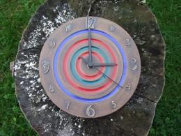 Obrázek výrobku: Keramické závěsné hodiny9 - průměr cca 22 cm