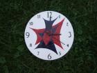 Výrobek: Nástěnné keramické hodiny