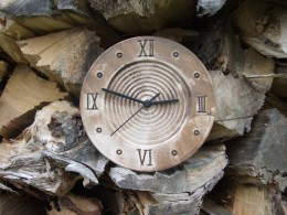 Obrázek výrobku: Nástěnné keramické hodiny10 - průměr cca 22 cm