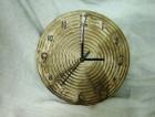 Výrobek: Nástěnné keramické hodiny11 - průměr cca 22 cm