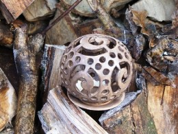 Obrázek výrobku: Svícen koule4