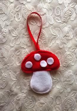 Obrázek výrobku: Vánoční ozdoba - hříbek