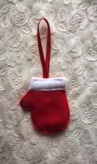 Výrobek: Vánoční ozdoba - rukavice
