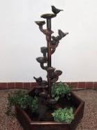 """Výrobek: Pokojová fontána - """"ŠÁLKOVÝ NAVIJÁK"""""""