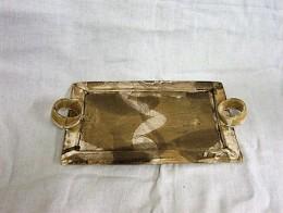 Obrázek výrobku: Obdélníkový tác - hnědý