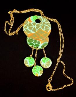 Obrázek výrobku: Zelenozlatá kolečka