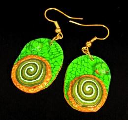 Obrázek výrobku: Zelenozlaté oválky