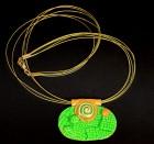 Výrobek: Zelenozlatý ovál