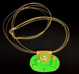 Obrázek výrobku: Zelenozlatý ovál