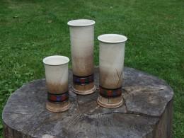 Obrázek výrobku: Váza Válec střední- ornament