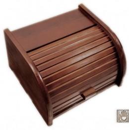 Obrázek výrobku: Chlebník malý - tmavě hnědý