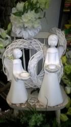 Výrobek: Anděl - bílý - malý