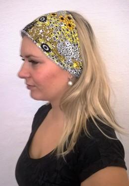 Obrázek výrobku: Látková čelenka - více barevná - univerzální