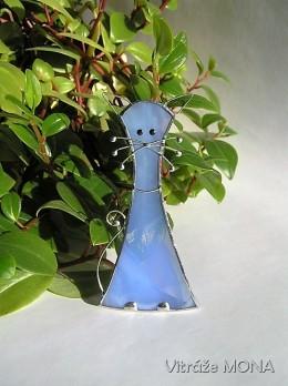 Obrázek výrobku: Kočka nesmělá - světle modrá