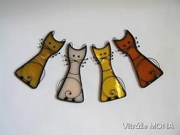 Obrázek výrobku: Kočka Míca oranžovo-písková