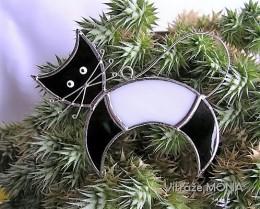 Obrázek výrobku: Kočka se ježí? - černo- bílá