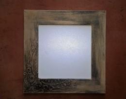 Obrázek výrobku: Vintage rámeček - hnědý