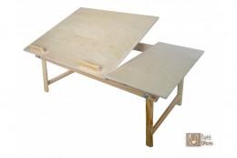 Obrázek výrobku: Dřevěný stolek pod notebook