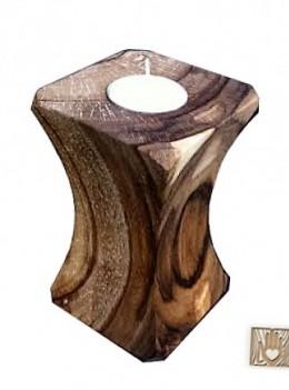 Obrázek výrobku: Ořechový svícen speciál