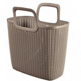 Obrázek výrobku: Nákupní taška KNIT - hnědá