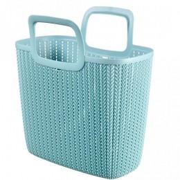 Obrázek výrobku: Nákupní taška KNIT - modrá