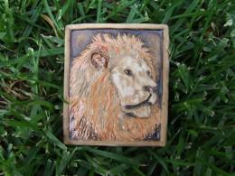 Obrázek výrobku: Magnetka keramická- lev