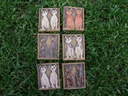 Obrázek výrobku: Magnetka keramická- kočky