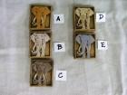 Výrobek: Magnetka keramická- slon