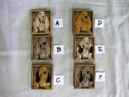Obrázek výrobku: Magnetka keramická- pes