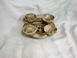 Obrázek výrobku: Adventní svícen Miska s mističkou
