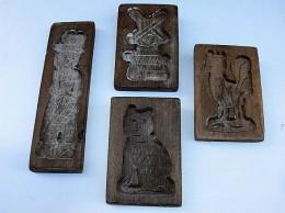 Obrázek výrobku: 4*dřevěná forma na perník