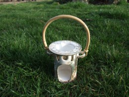 Obrázek výrobku: Aromalampa Rovná s ratanem