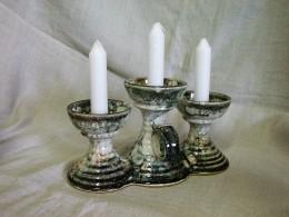 Obrázek výrobku: Trojsvícen Pohárek