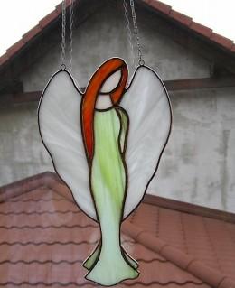 Obrázek výrobku: Anděl Amálie zelený
