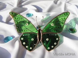 Obrázek výrobku: Motýl Alfréd zelený